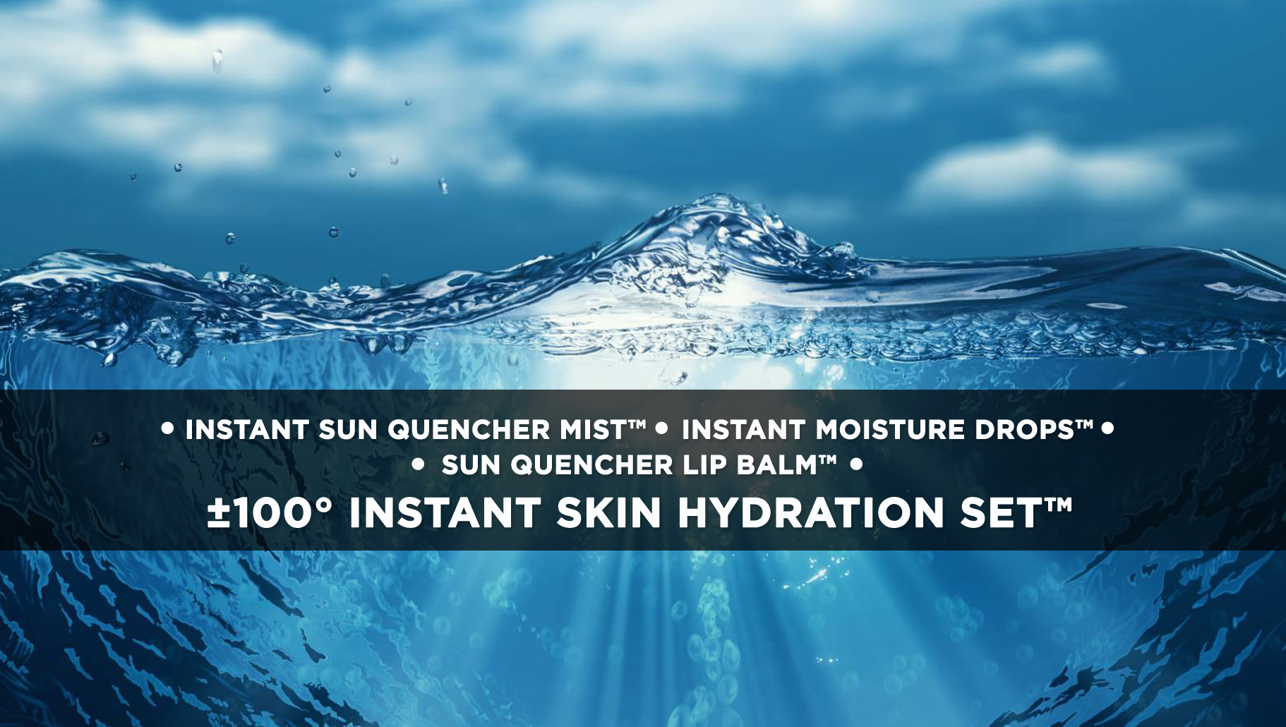 ±100° INSTANT SKIN HYDRATION SET™